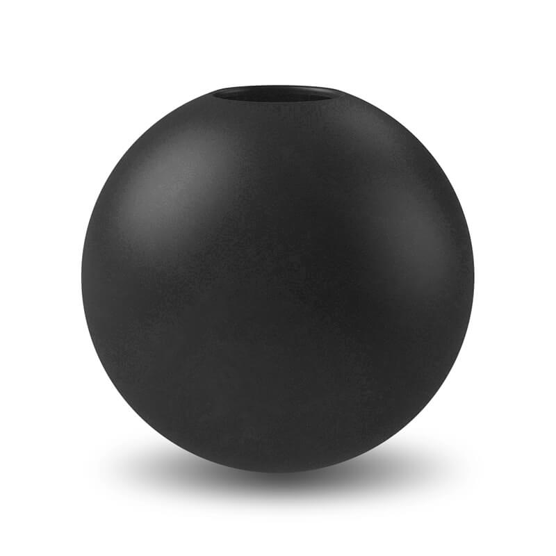 Cooee Design Large Ball Vase Black