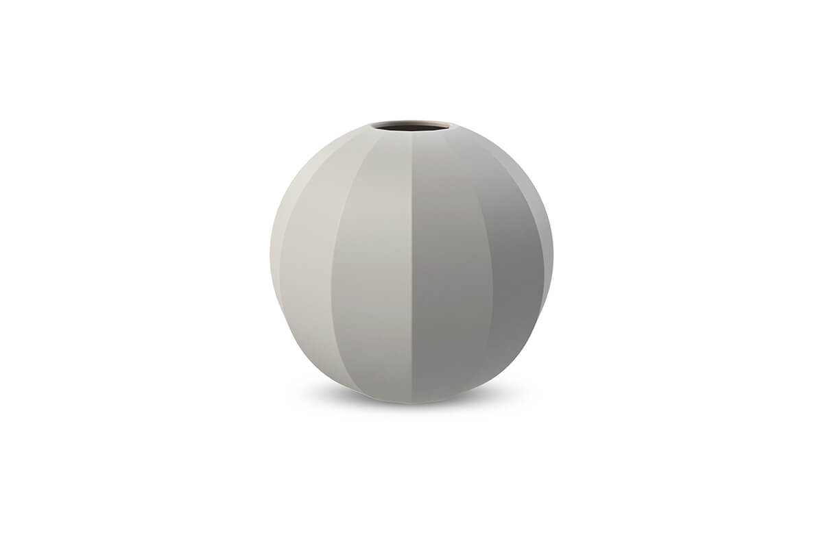 Cooee Design Medium Edge Ball Vase Grey