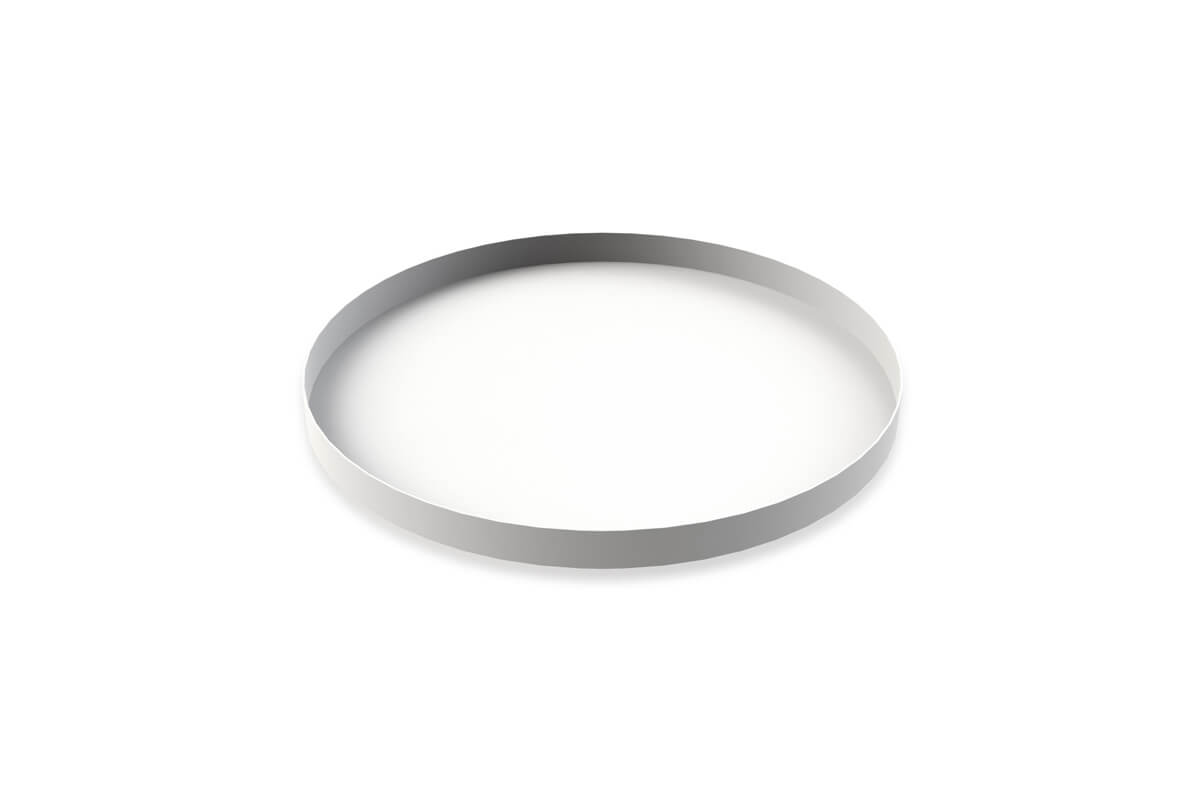 Cooee Design Tray Circle White