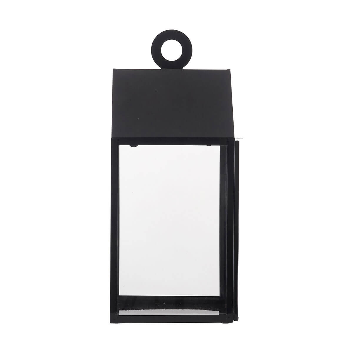 House Doctor Small Ring Lantern Black