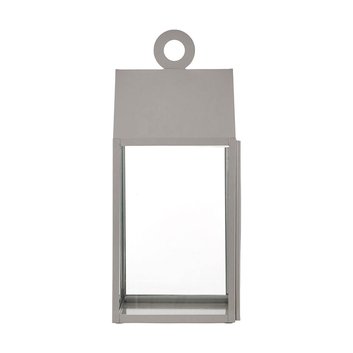 House Doctor Small Ring Lantern Beige/Grey