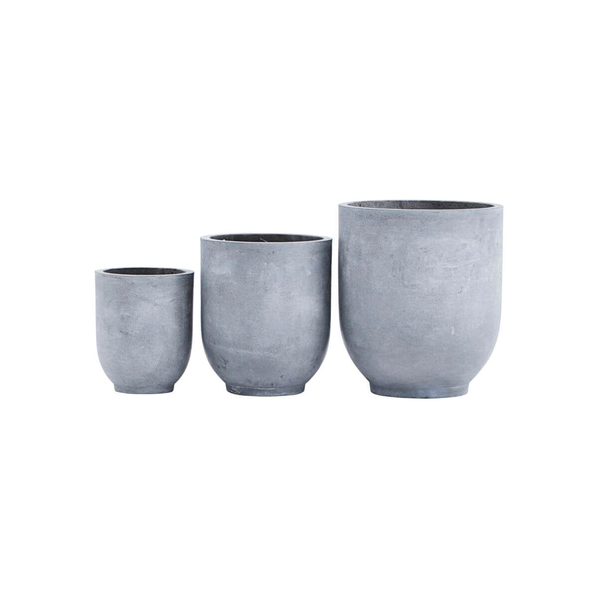House Doctor Planter Gards Grey - S/M/L