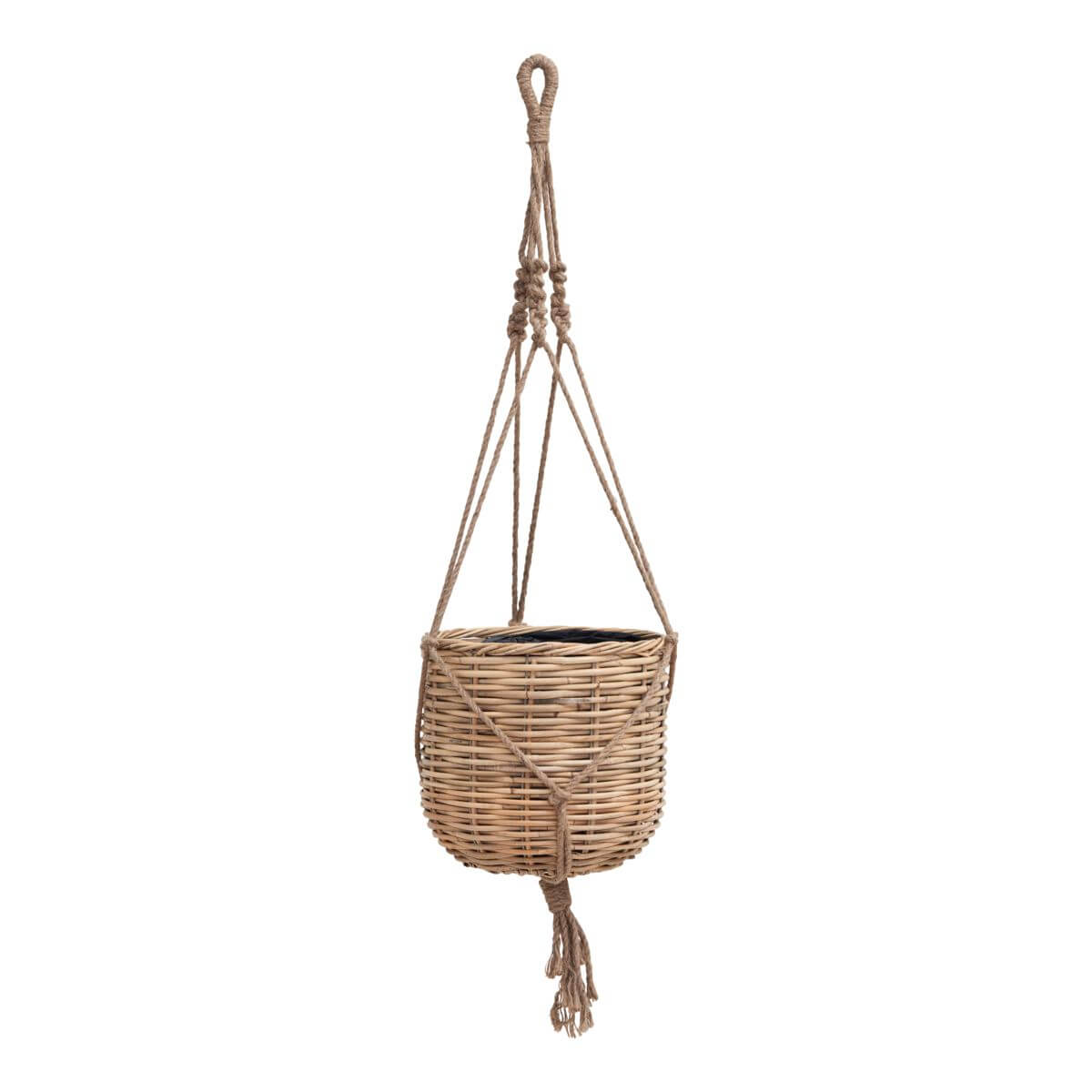 House Doctor Woven Planter Natural