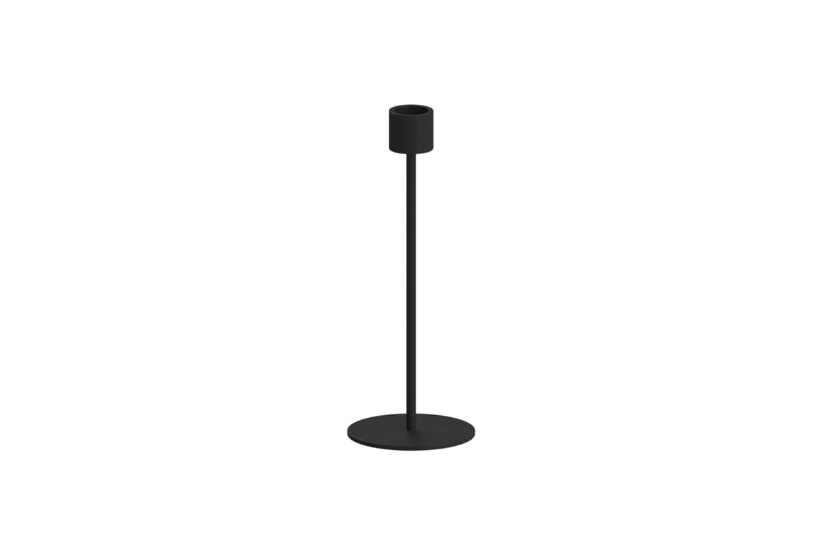 Cooee Design Small Candlestick Black