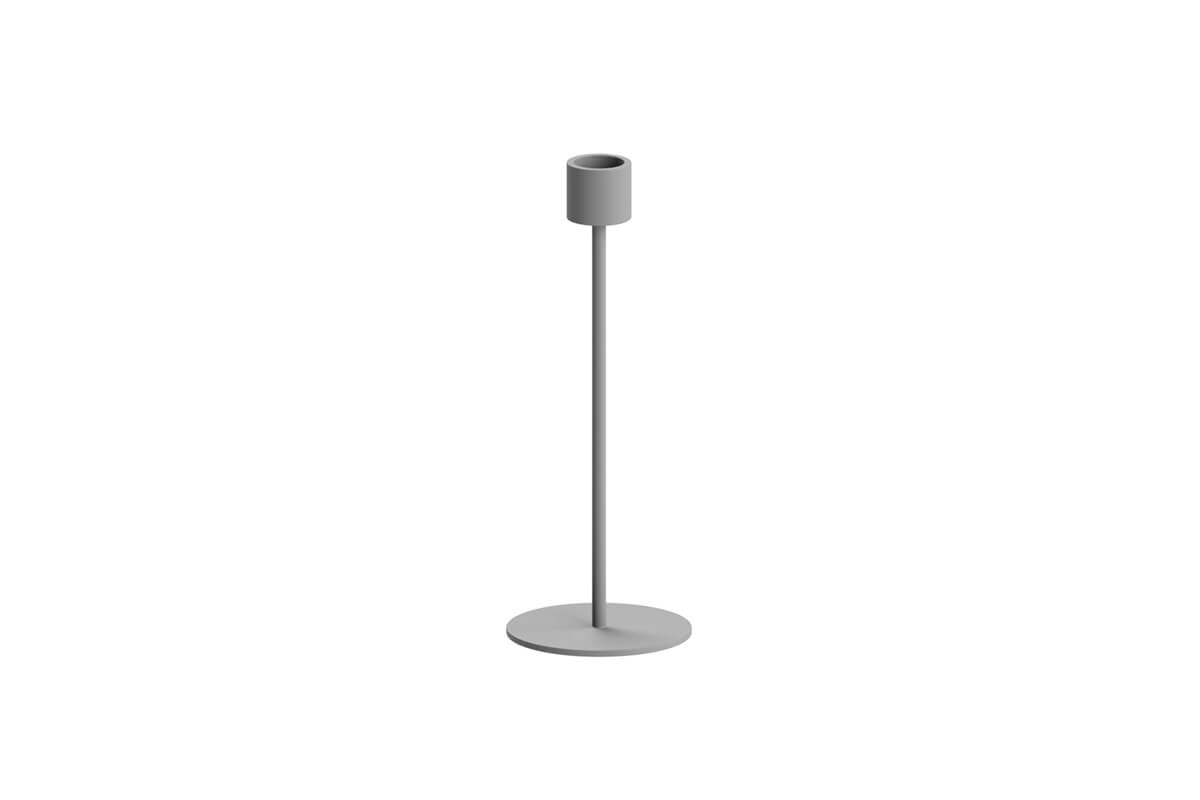 Cooee Design Small Candlestick Grey