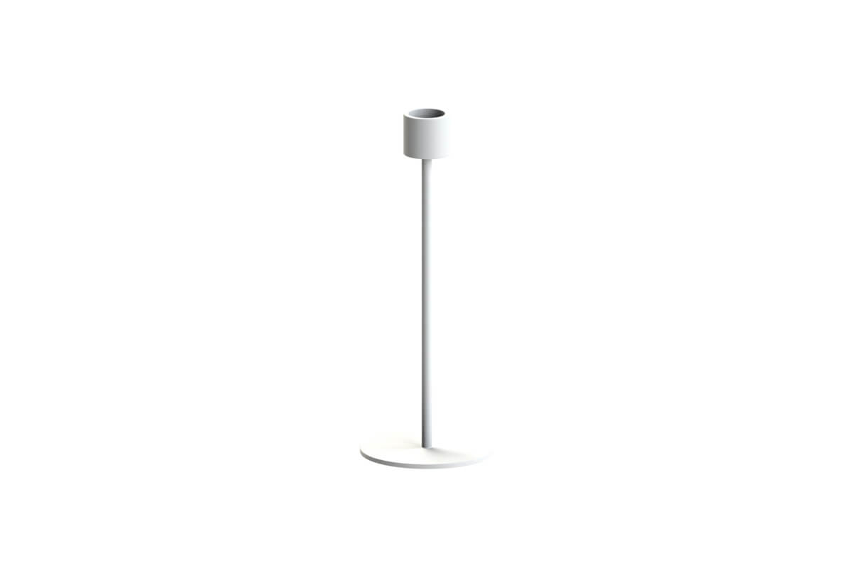 Cooee Design Small Candlestick White