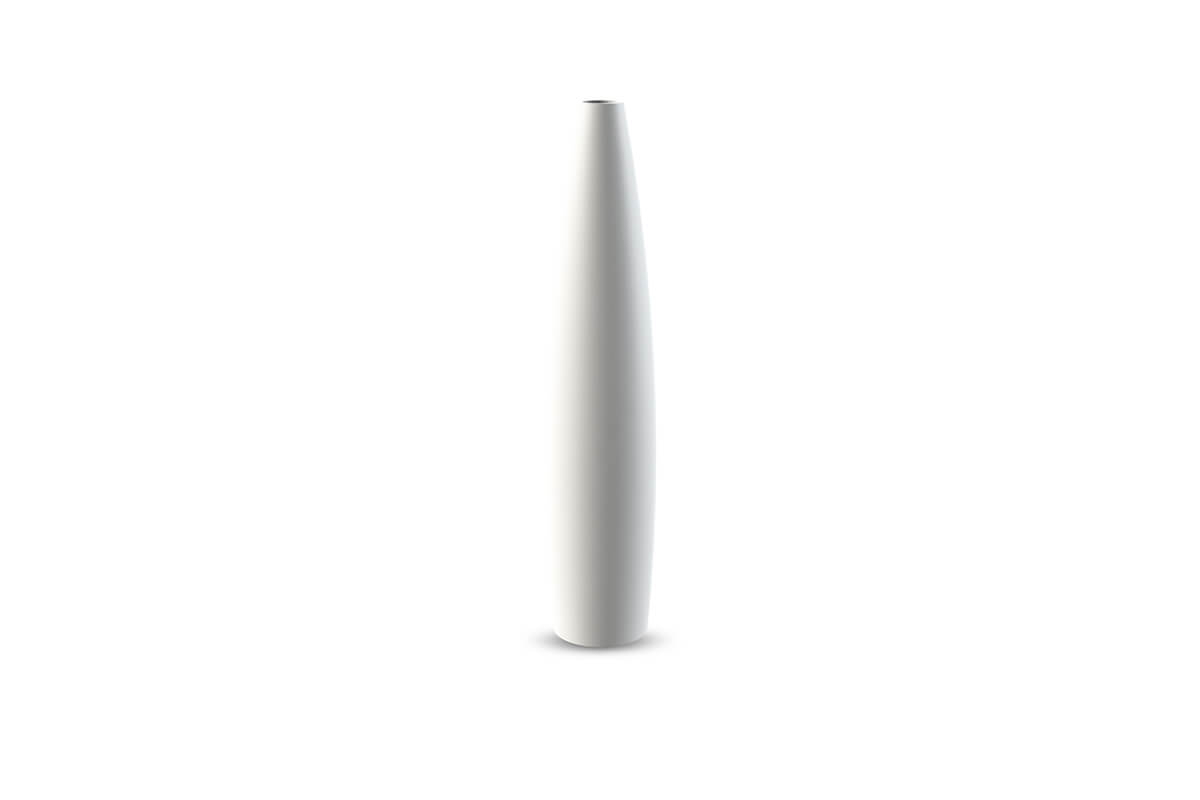 Cooee Design Large Candlestick Tube White