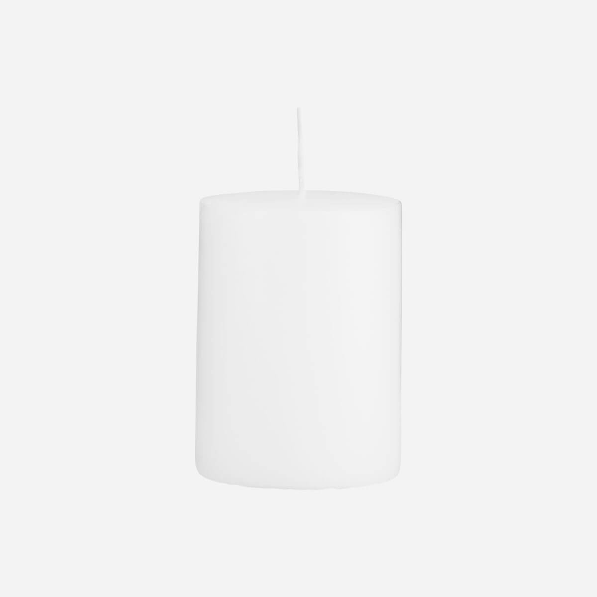 House Doctor Pillar Candle White – 70×100