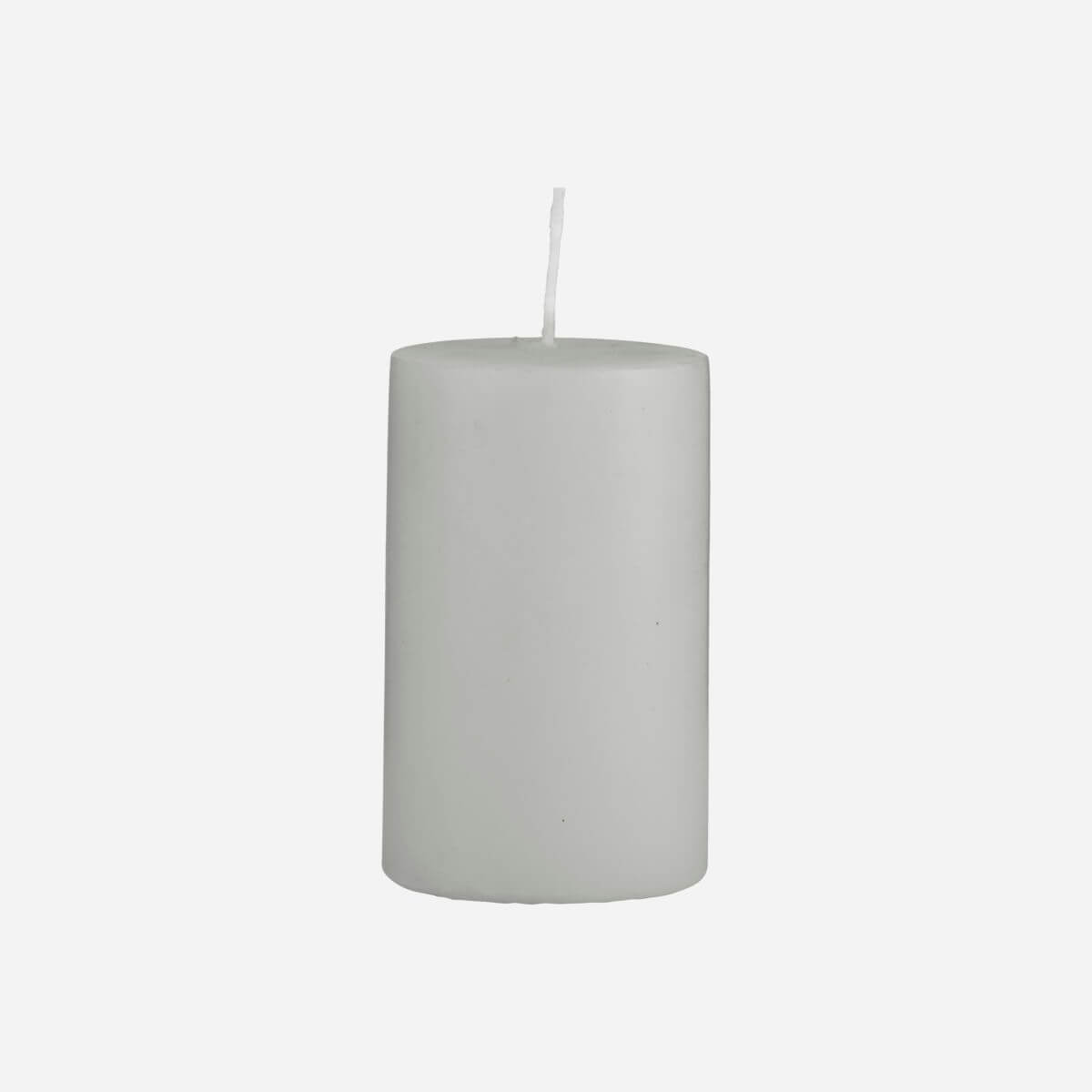 House Doctor Pillar Candle Grey - 60x100