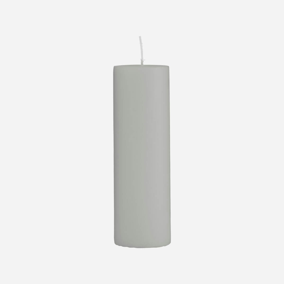 House Doctor Pillar Candle Grey - 40x200