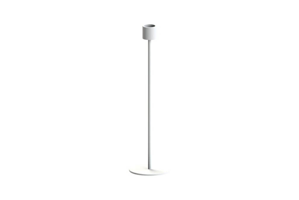 Cooee Design Large Candlestick White