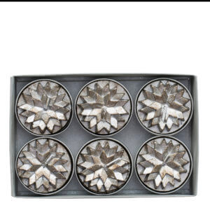 Lene Bjerre Nordic Tea Lights Silver
