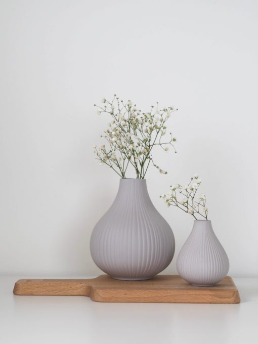Coming Home Light Grey Adrian Vase Large