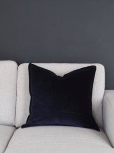 Coming Home Conny Cushion Cover Navy Velvet