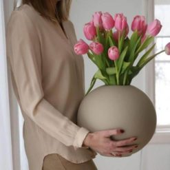 Cooee Design XL Ball Vase Sand