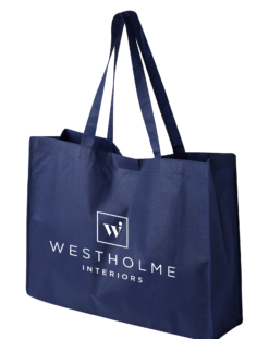 Westholme Interiors Blue Tote Large