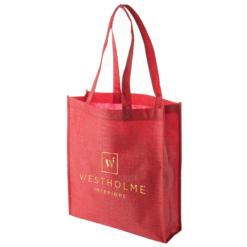 Westholme Interiors Red Tote Small
